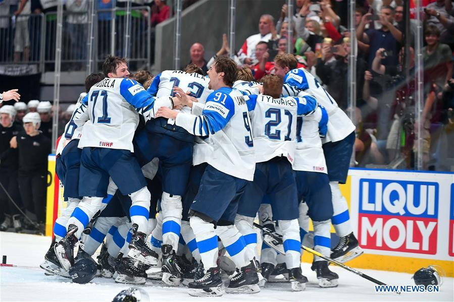 Antilla Leads Finland To Gold At 2019 Ice Hockey Worlds Xinhua