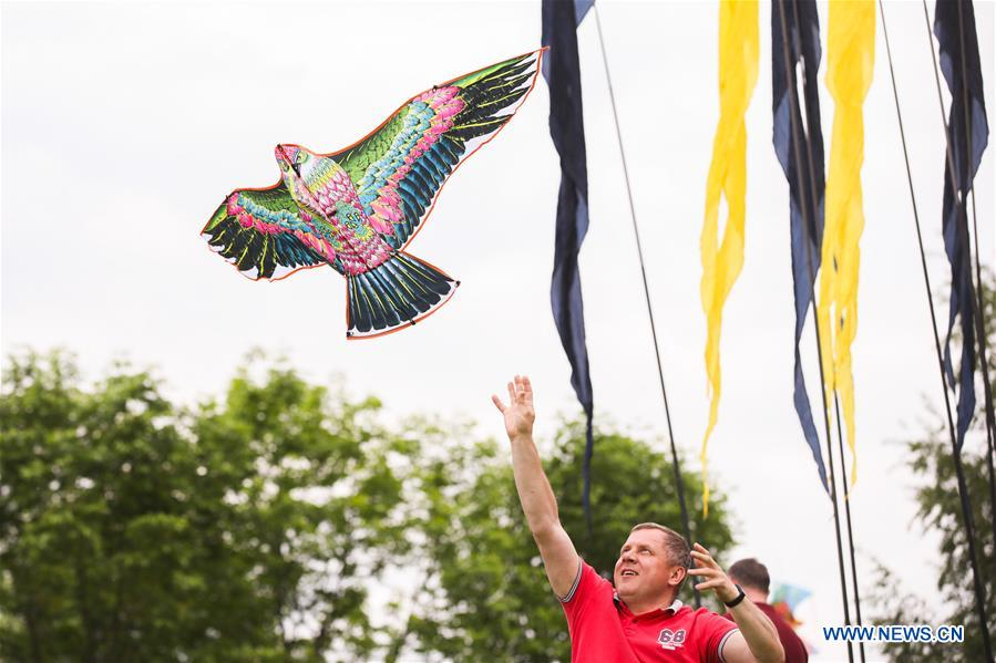 RUSSIA-MOSCOW-KITE FESTIVAL