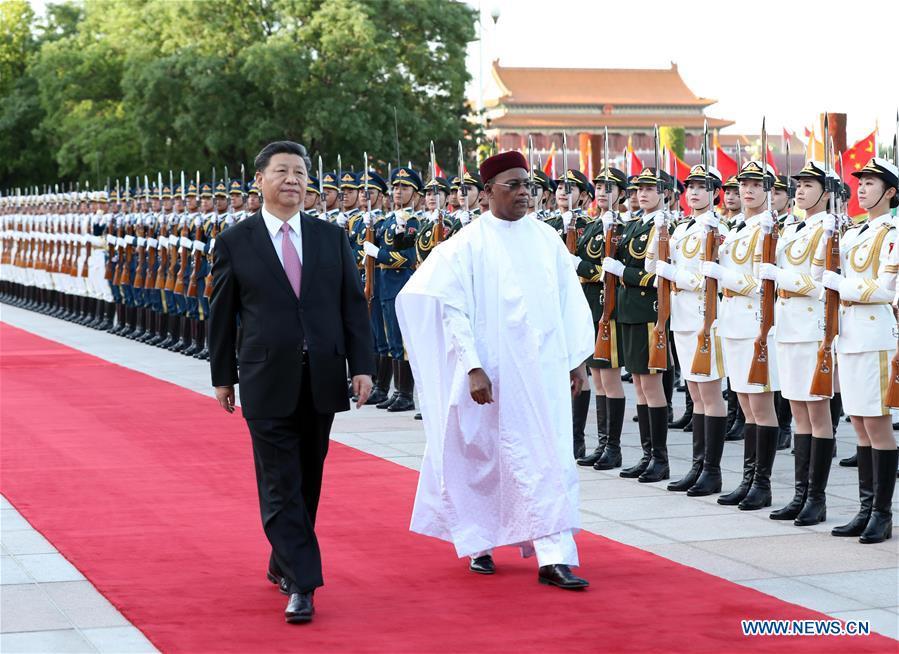 CHINA-BEIJING-XI JINPING-NIGERIEN PRESIDENT-TALKS(CN)