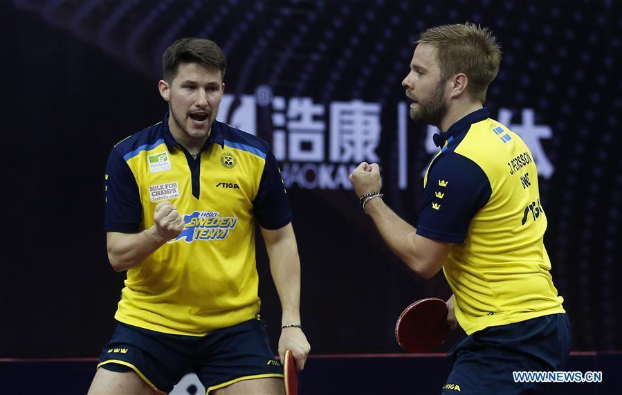 (SP)中国 - 深圳 - 乒乓球 - 中国开放