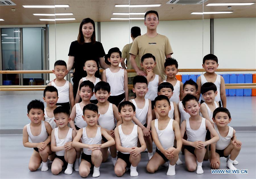 CHINA-SHANGHAI-BALLET-BOY DANCERS(CN)