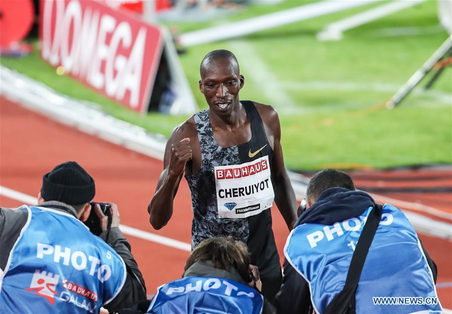 (SP)SWEDEN-STOCKHOLM-ATHLETICS-IAAF DIAMOND LEAGUE