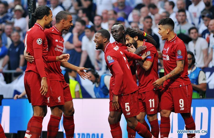 (SP)西班牙 - 马德里 - 欧足联冠军联赛 - 最终 - 利物浦VS HOTSPUR