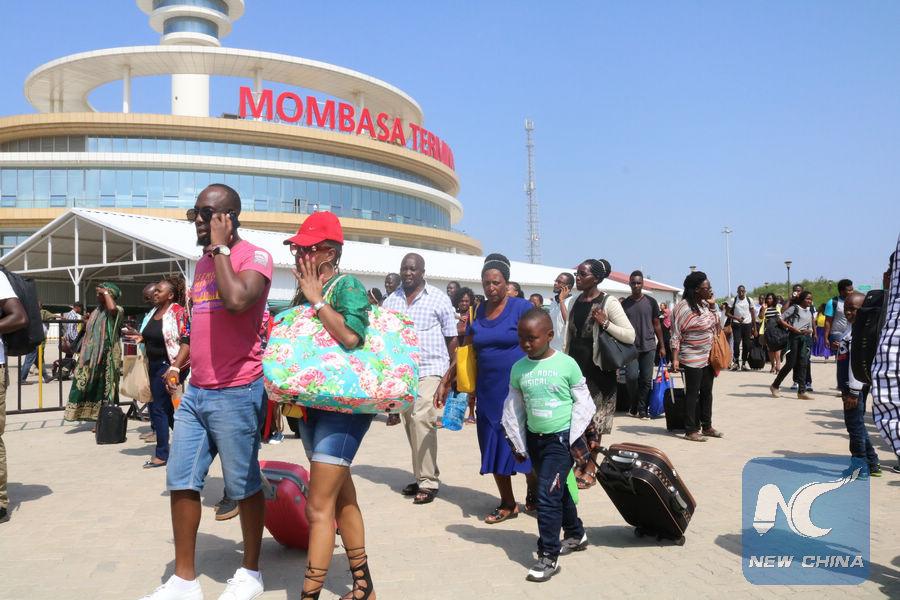 Kenya's modern train ferries 3 mln passengers on eve of 2nd anniversary