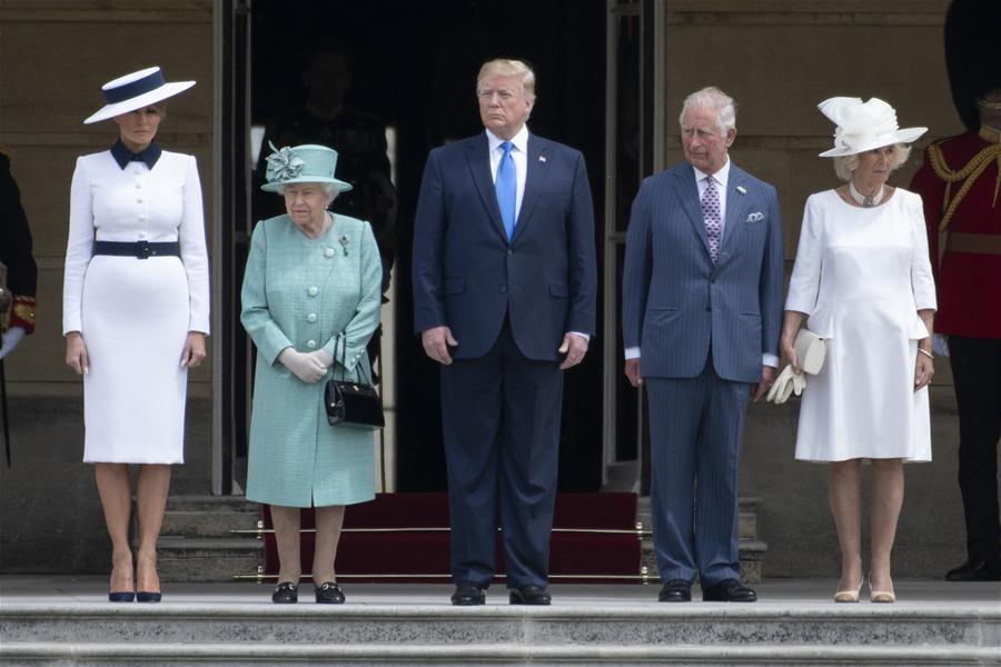 抗议活动,作为美国总统访问英国进