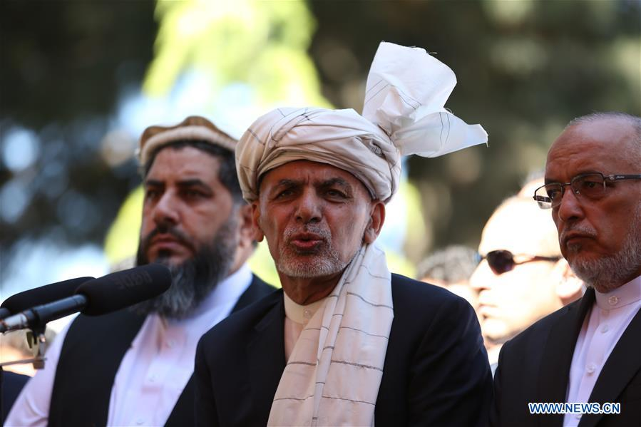 Afghan president expresses readiness to observe ceasefire if