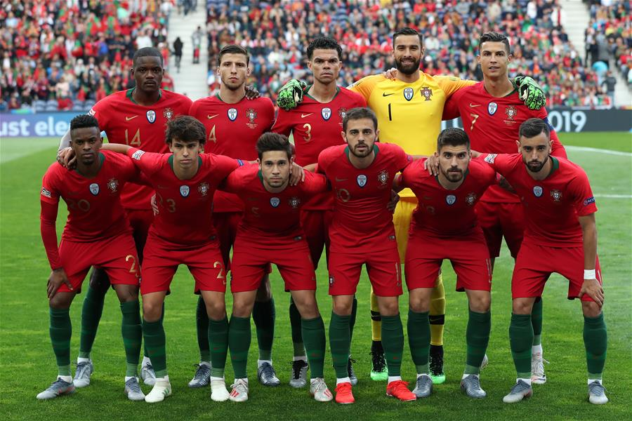 In Pics Uefa Nations League Semi Final Football Match Between Portugal And Switzerland Xinhua English News Cn