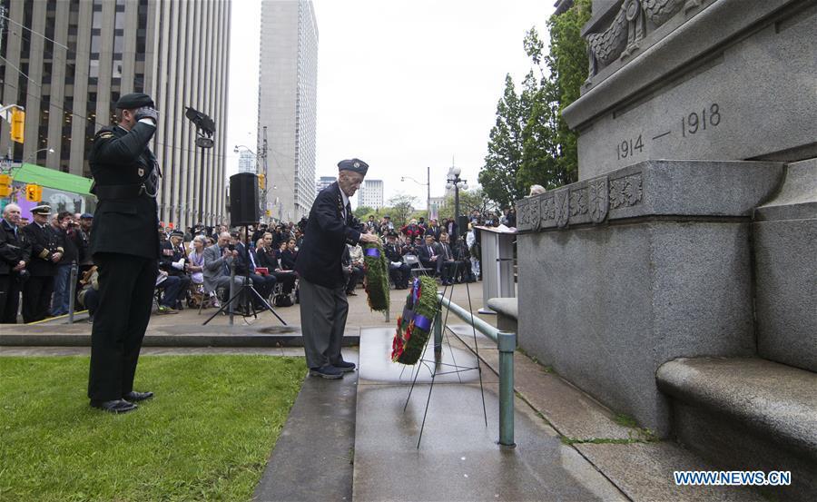 加拿大多伦多-d-DAY-纪念活动