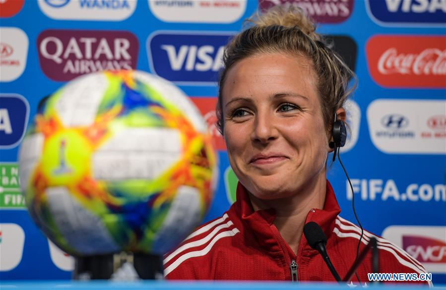 (SP)FRANCE-RENNES-2019 FIFA女子世界杯 - 德国 - 新闻发布会