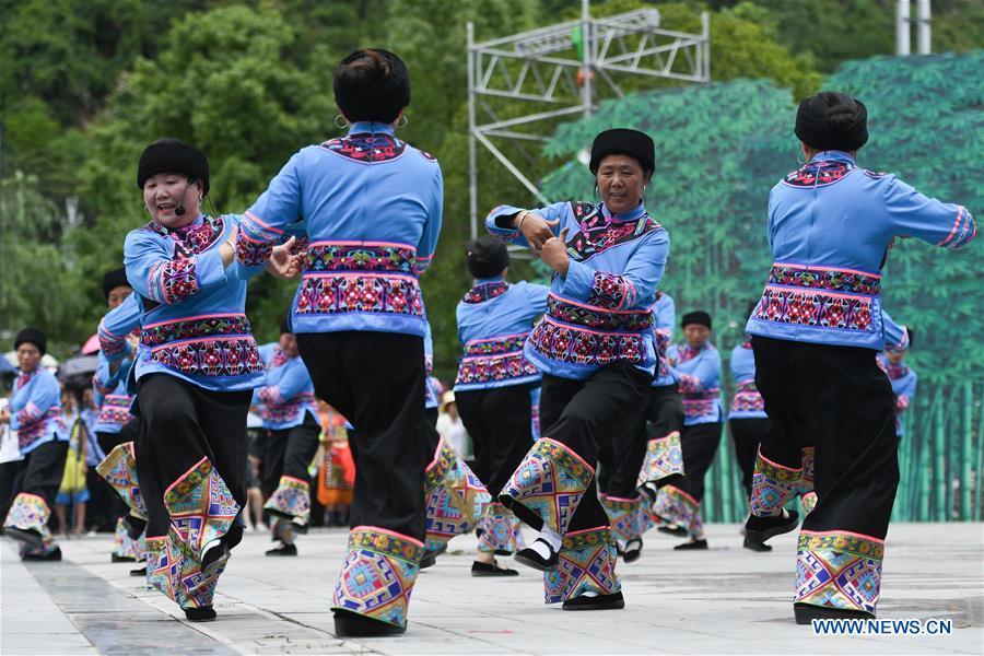 CHINA-HUNAN-SHEBA FESTIVAL-TUJIA ETHNIC GROUP (CN)
