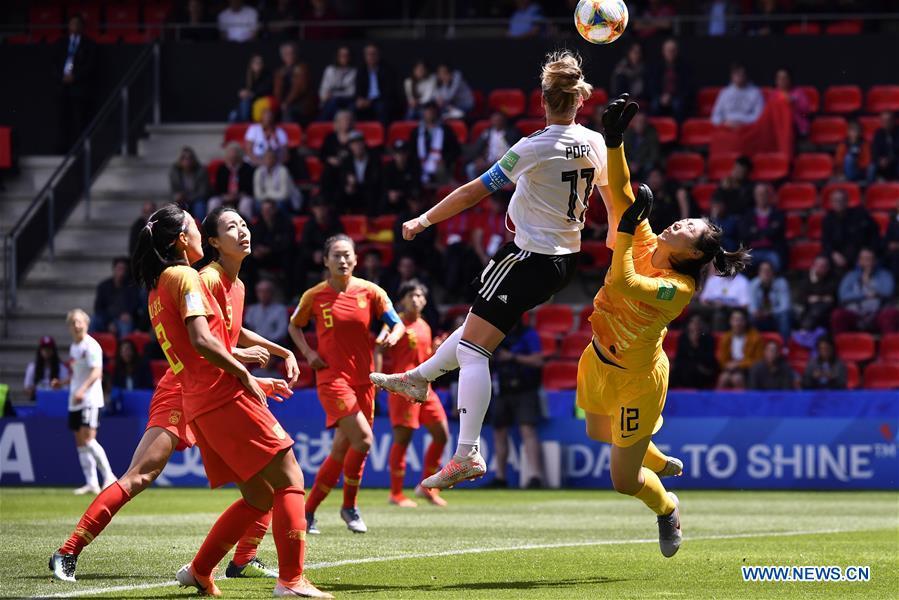 Utakmica Njemačka Kina na svjetskom nogometnom prvenstvu za žene 2019.