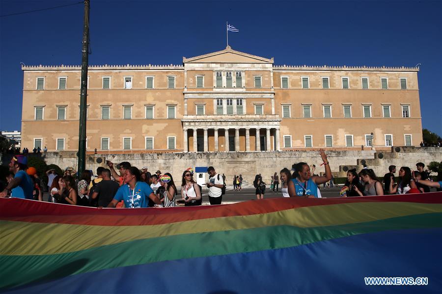 希腊 - 雅典 - 自豪游行