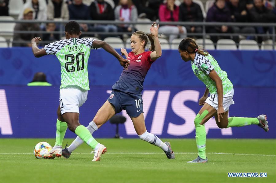 (SP)FRANCE-REIMS-SOCCER-FIFA WOMEN'S WORLD CUP-NOR VS NGA