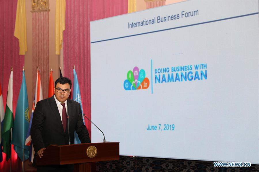 UZBEKISTAN-NAMANGAN-INTERNATIONAL BUSINESS FORUM