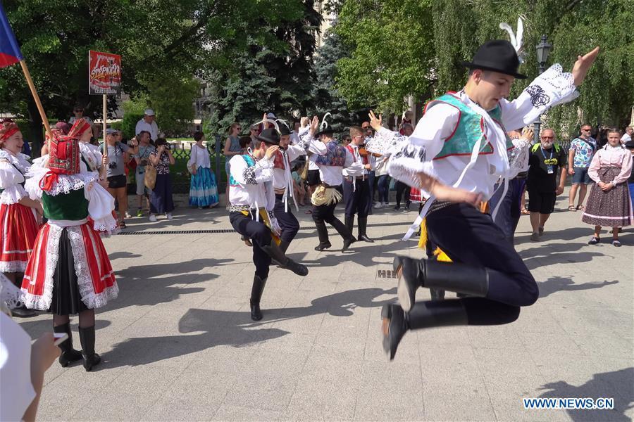 HUNGARY-BUDAPEST-FOLK DANCE-FESTIVAL