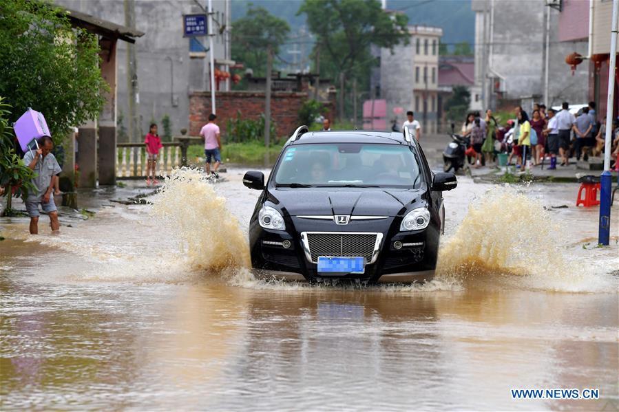 中国 - 江西 - 赣州 - 洪水(中国)