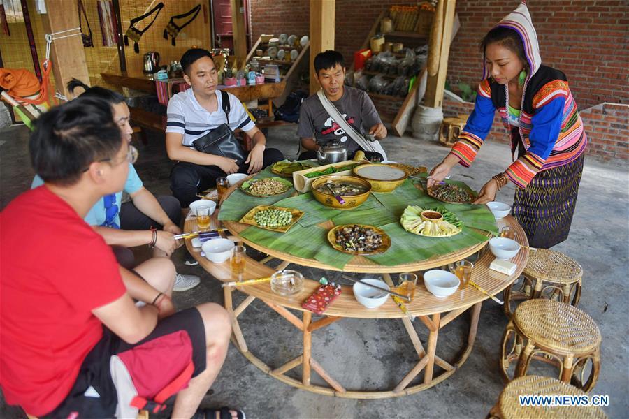 中国 - 云南 - 吉诺民族 - 家庭(中国)