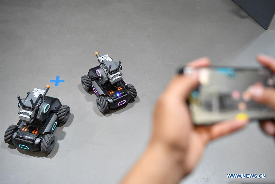 CHINA-BEIJING-DJI-EDUCATIONAL ROBOT-EVENT(CN)