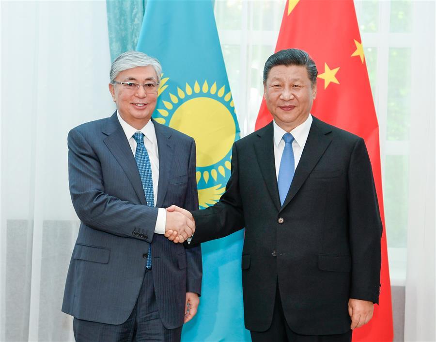 吉尔吉斯斯坦 - 比什凯克 - 中国 - 哈萨克斯坦总统-MEETING