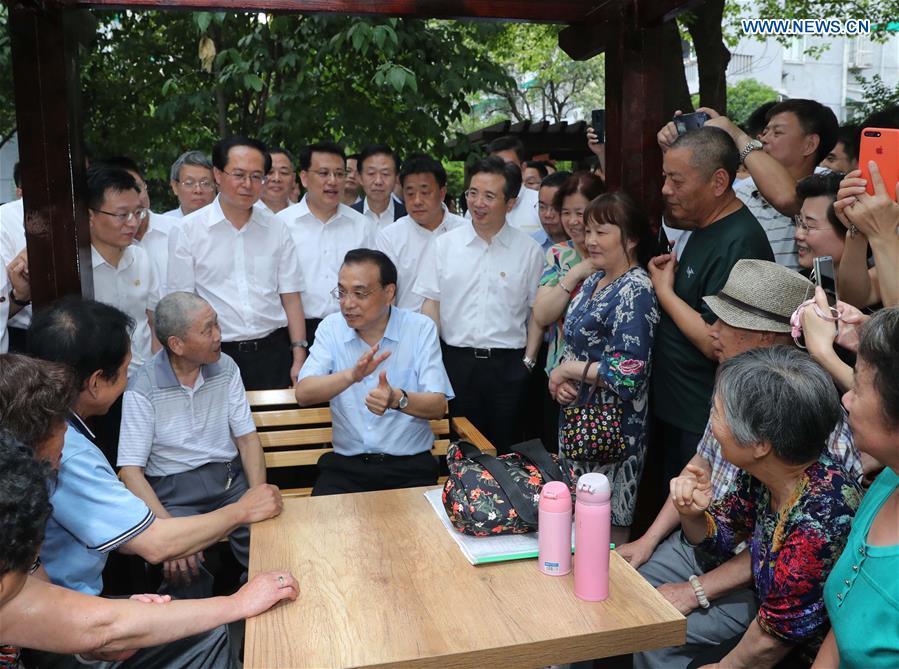 Chinese premier calls for strengthening development impetus, meeting people's needs - Xinhua | English.news.cn