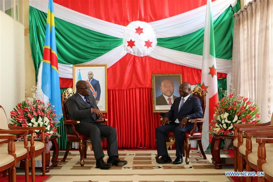 BURUNDI-BUJUMBURA-DR CONGO-DIPLOMACY