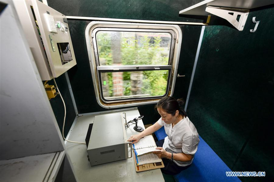 CHINA-CHONGQING-RAILWAY-GREEN TRAIN (CN)