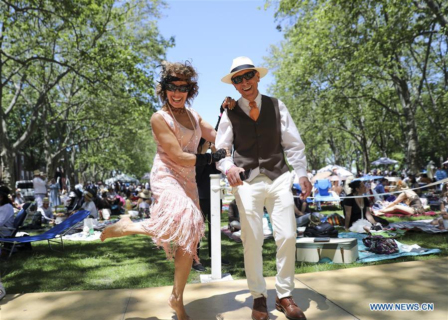 美国纽约 - 第14届年度爵士年代草坪派对