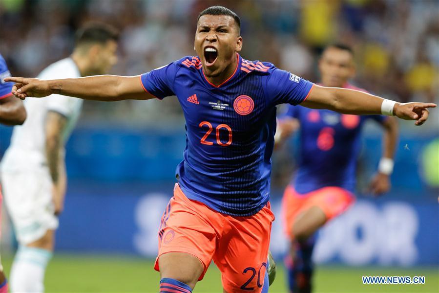 (SP)BRAZIL-SALVADOR-SOCCER-COPA AMERICA 2019-ARGENTINA VS COLOMBIA