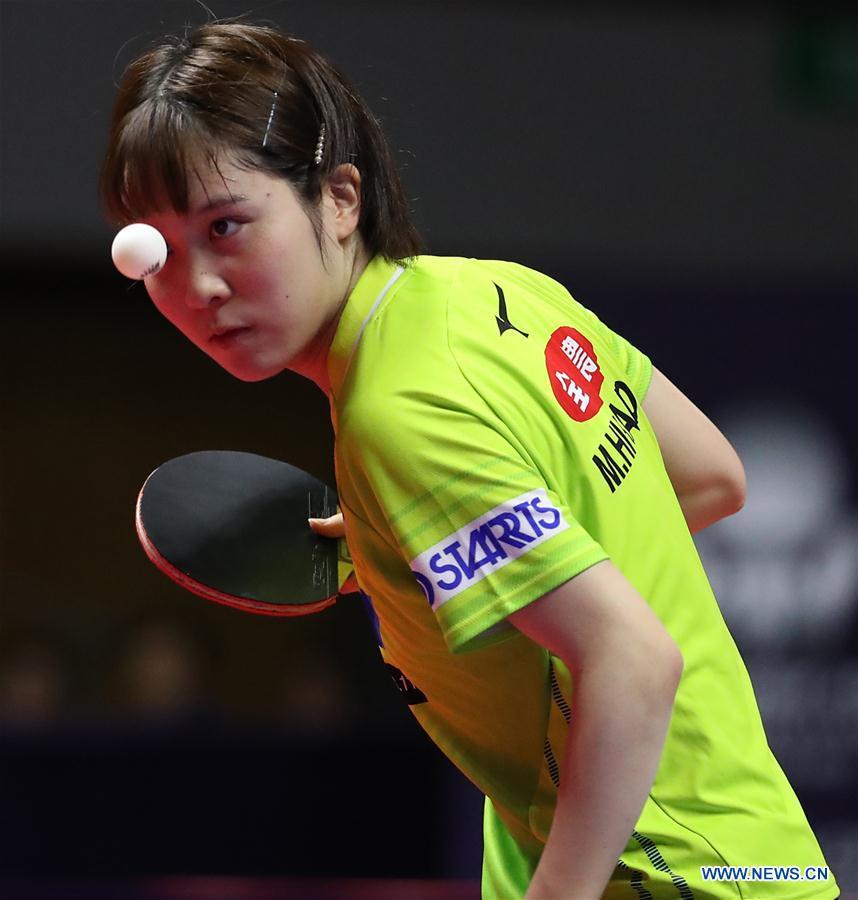 (SP)JAPAN-SAPPORO-TABLE TENNIS-ITTF JAPAN OPEN