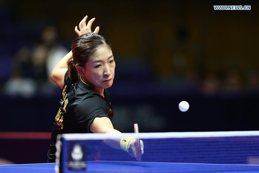 (SP)JAPAN-SAPPORO-TABLE TENNIS-ITTF JAPAN OPEN-WOMEN'S SINGLES-FINAL