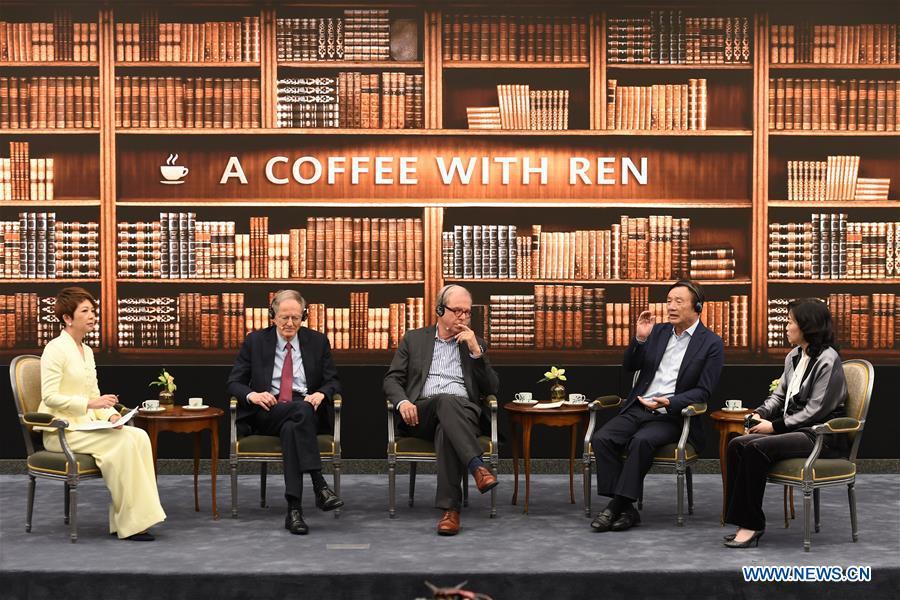 中国 - 深圳 - 华为 - 任振飞 - 美国对话(中国)