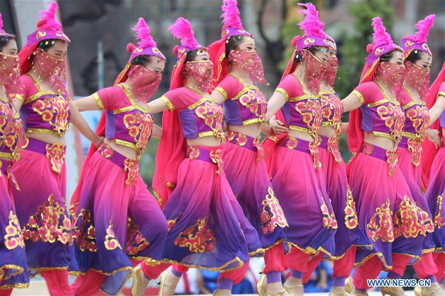 #CHINA-HUNAN-XIANGXI-DRUM FESTIVAL (CN)