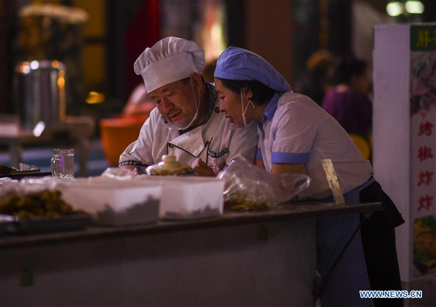 CHINA-XINJIANG-YULI-NIGHT FAIR (CN)
