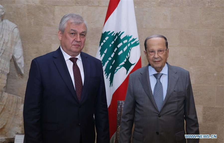 LEBANON-BEIRUT-RUSSIA-SPECIAL ENVOY FOR SYRIA-VISIT
