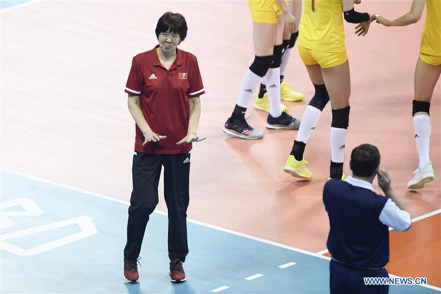 (SP)CHINA-NINGBO-VOLLEYBALL-FIVB NATIONS LEAGUE-CHN VS BUL (CN)