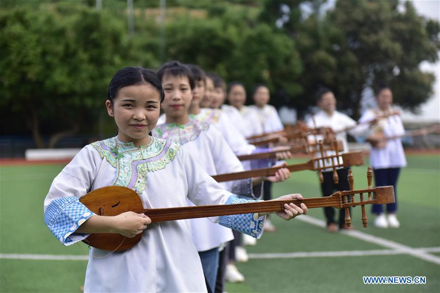#CHINA-GUIZHOU-RONGJIANG-ETHNIC CULTURE-CAMPUS (CN)