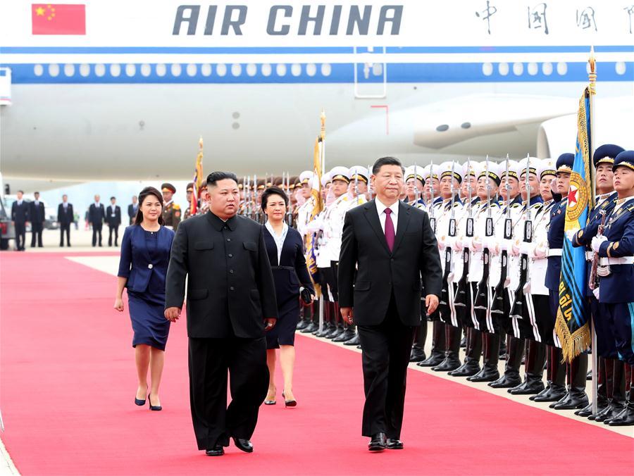 DPRK-PYONGYANG-CHINA-XI JINPING-STATE VISIT