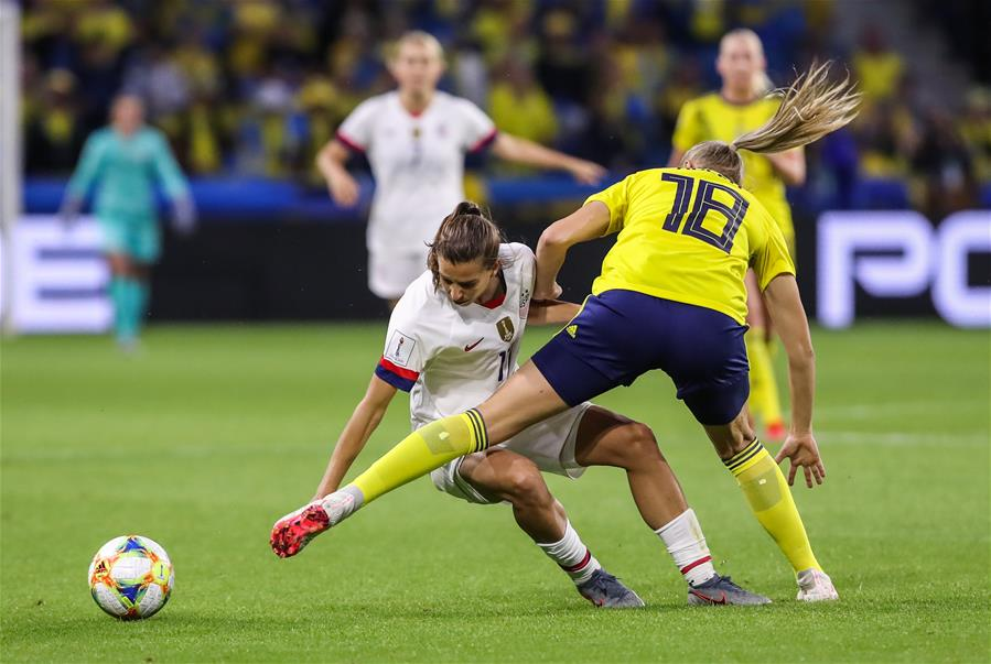 (SP)FRANCE-LE HAVRE-SOCCER-FIFA WOMEN'S WORLD CUP-SWE VS USA
