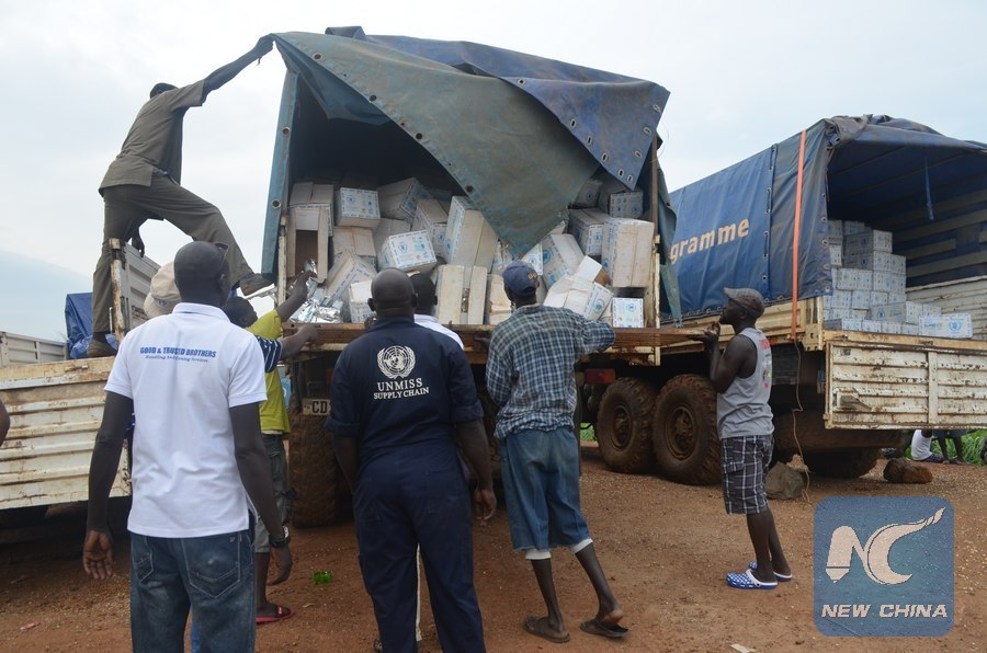Peace deal eases supply of relief aid to displaced people in South Sudan