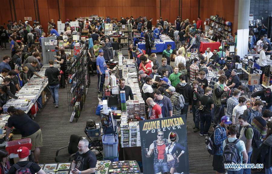 Vancouver Retro Gaming Expo held in Canda - Xinhua | English
