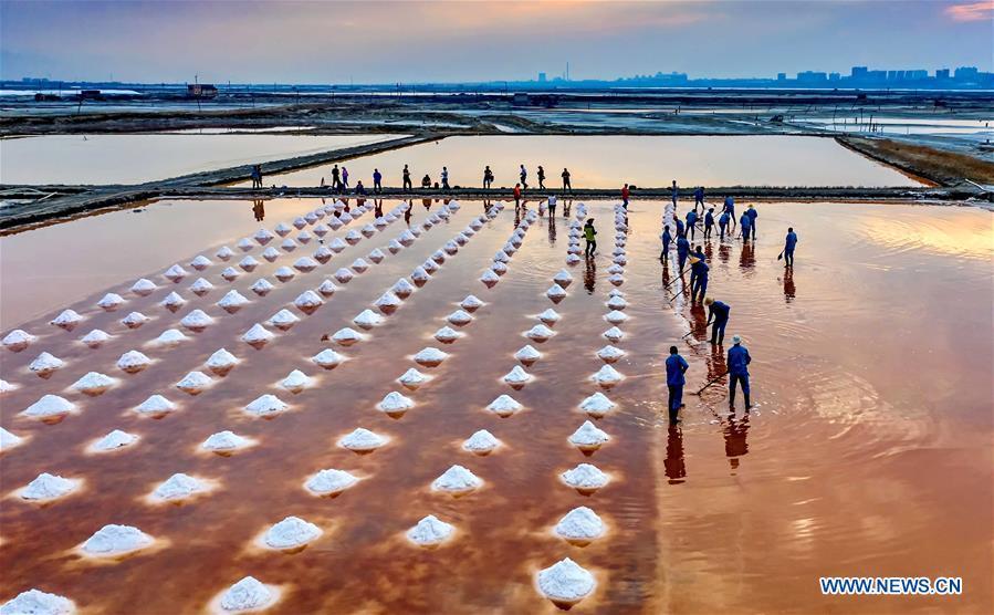 CHINA-SHANXI-YUNCHENG-SALT-HARVEST (CN)