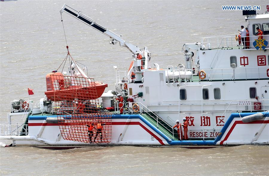 CHINA-SHANGHAI-EMERGENCY RESCUE DRILL (CN)