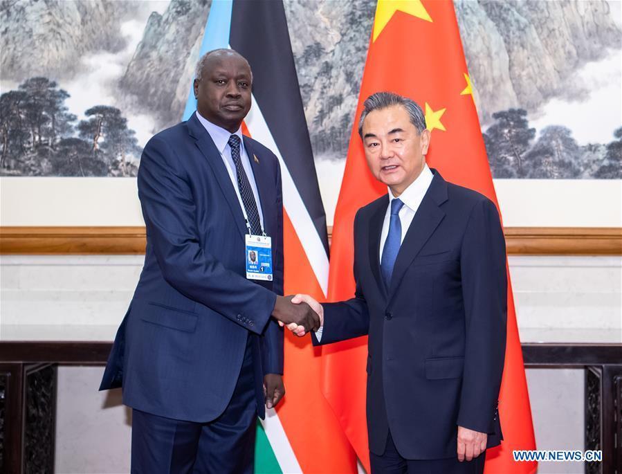 CHINA-BEIJING-WANG YI-SOUTH SUDAN-FM-MEETING (CN)