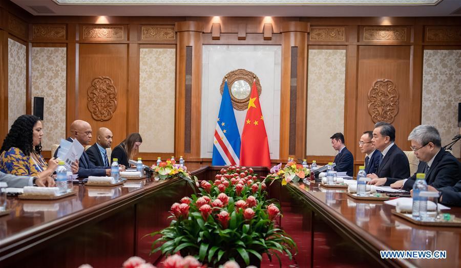 CHINA-BEIJING-WANG YI-CAPE VERDE-FM-MEETING (CN)