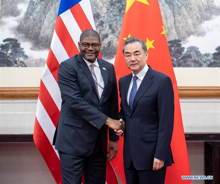 CHINA-BEIJING-WANG YI-LIBERIA-FM-MEETING (CN)