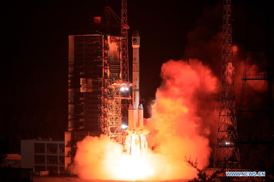 CHINA-XICHANG-SATELLITE LAUNCH (CN)