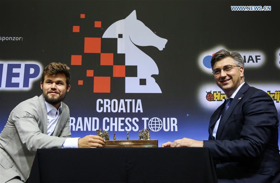 Resultado de imagem para grand chess tour croatia 2019