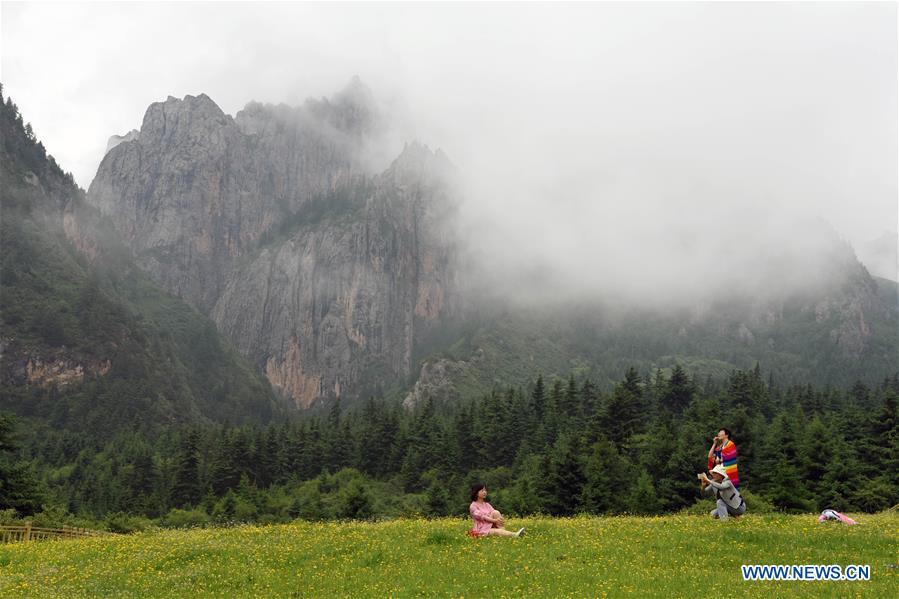 CHINA-GANSU-ZHAGANA-SCENERY (CN)