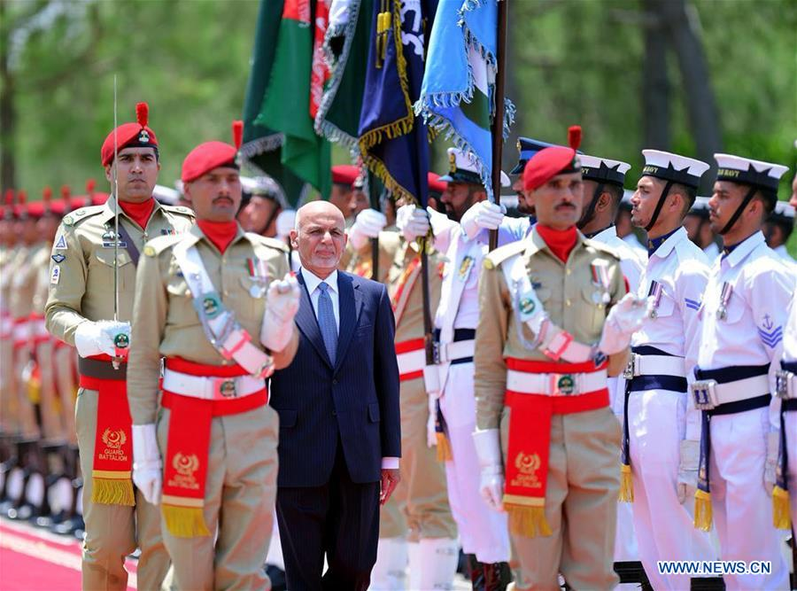 Afghan president arrives in Pakistan on two-day visit