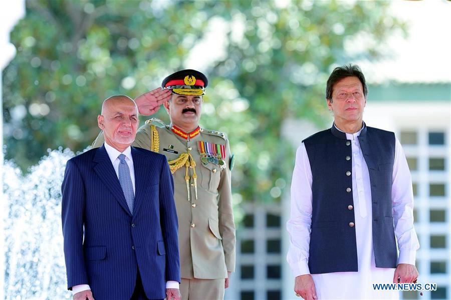 巴基斯坦 - 伊斯蘭堡 - 阿富汗總統訪問